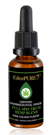 EdenPURE 7 Full Spectrum CBD Oil