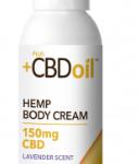 CBD Hemp oil Body Cream